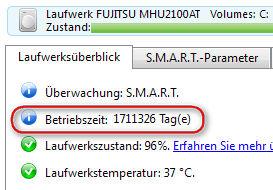 GELÖST - SSD: Innerhalb von 2 Tagen >1000GB Schreibzugriff