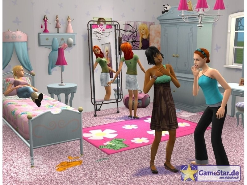 Die Sims 2: Teen Style Accessoires