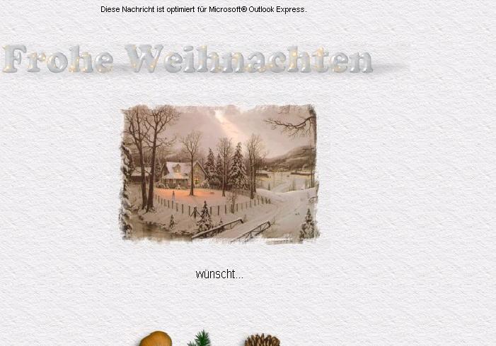 E mail briefpapier weihnachten kostenlos