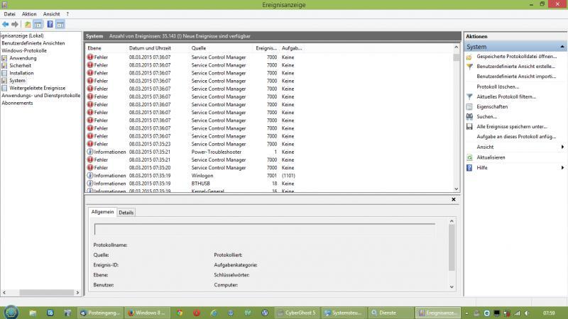 Fehler beim Herstellen einer Verbindung mit einem Windows-Dienst-ereignisanzeige.jpg