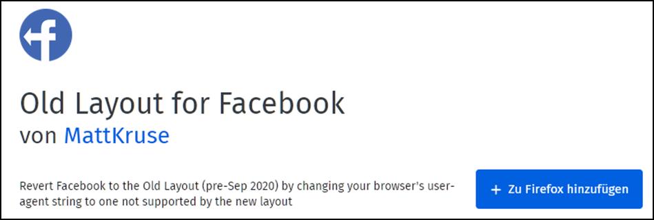 Altes Facebook