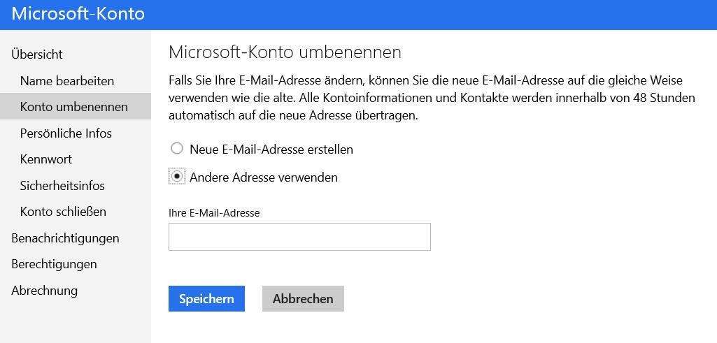 mit Konto verbundene e-mail Adresse �ndern-konto.jpg