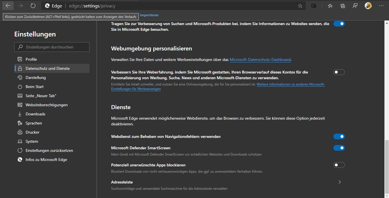 Microsoft,Edge,Browser,Chromium,Suchmaschine,Google,Bing!,Bing,Yahoo,DuckGoGo,YouTube,Trakt.TV...png