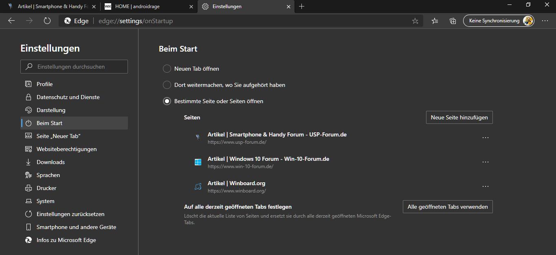 Microsoft,Edge,Chromium,Browser,mit neuen Tab öffnen,mit bestimmter Seite öffnen,mit bestimmte...png