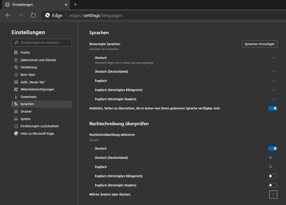 Microsoft,Edge,Chromium,Browser,Rechtschreibung,Prüfung,Überprüfung,Korrektur,Rechtschreibung ...png
