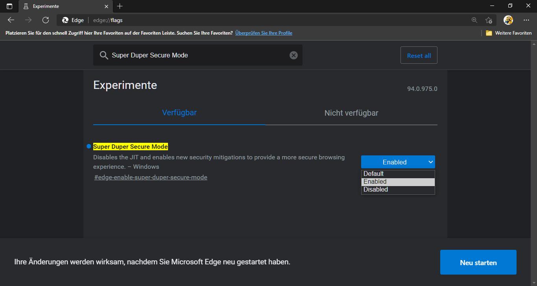 Microsoft Edge Super Duper Secure Mode Super Duper Secure Modus #Microsoft #Edge Tipps Tricks ...png