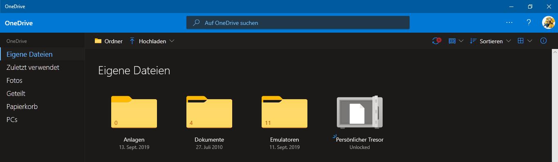 Microsoft,Onedrive,Tresor,Persönlicher Tresor,Microsoft OneDrive Tresor,Dateien,Limit,Mehr Fil...png