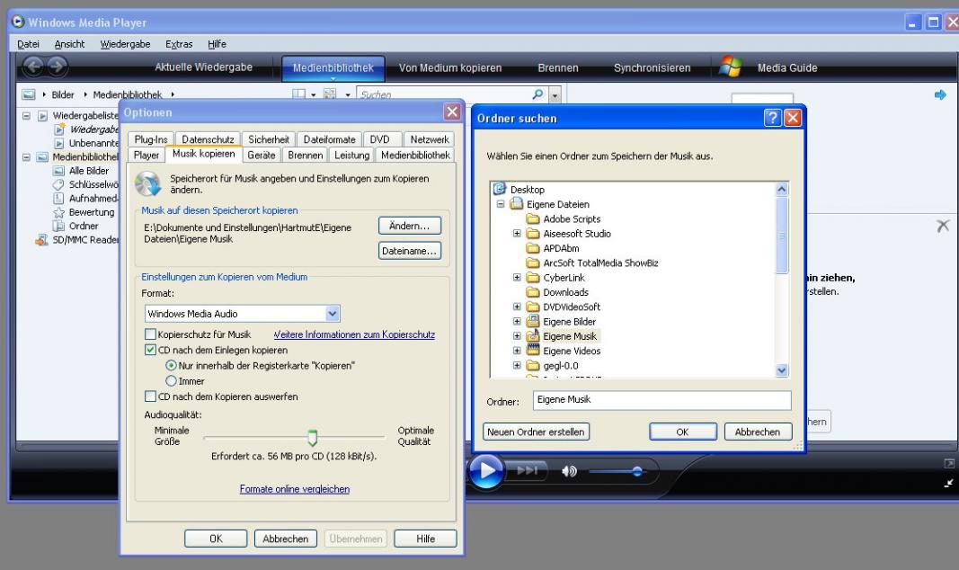 im Media Player lasst sich der Dateipfad zum Speichern von Mp3 nicht mehr festlegen-mppfad.jpg
