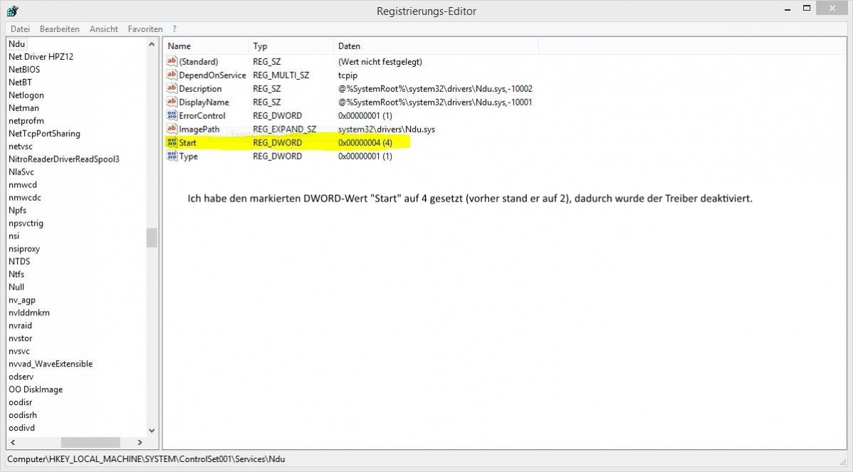 Bluescreen BAD_POOL_CALLER (Windows 8.1 Pro)-ndu.sys-treiber.jpg