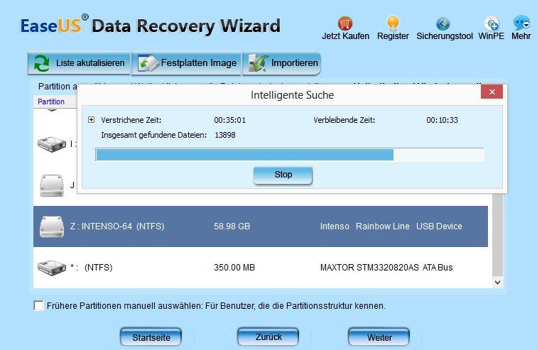 USB Stick INTENSIO 64 GB kein Zugriff mehr-recovery.jpg