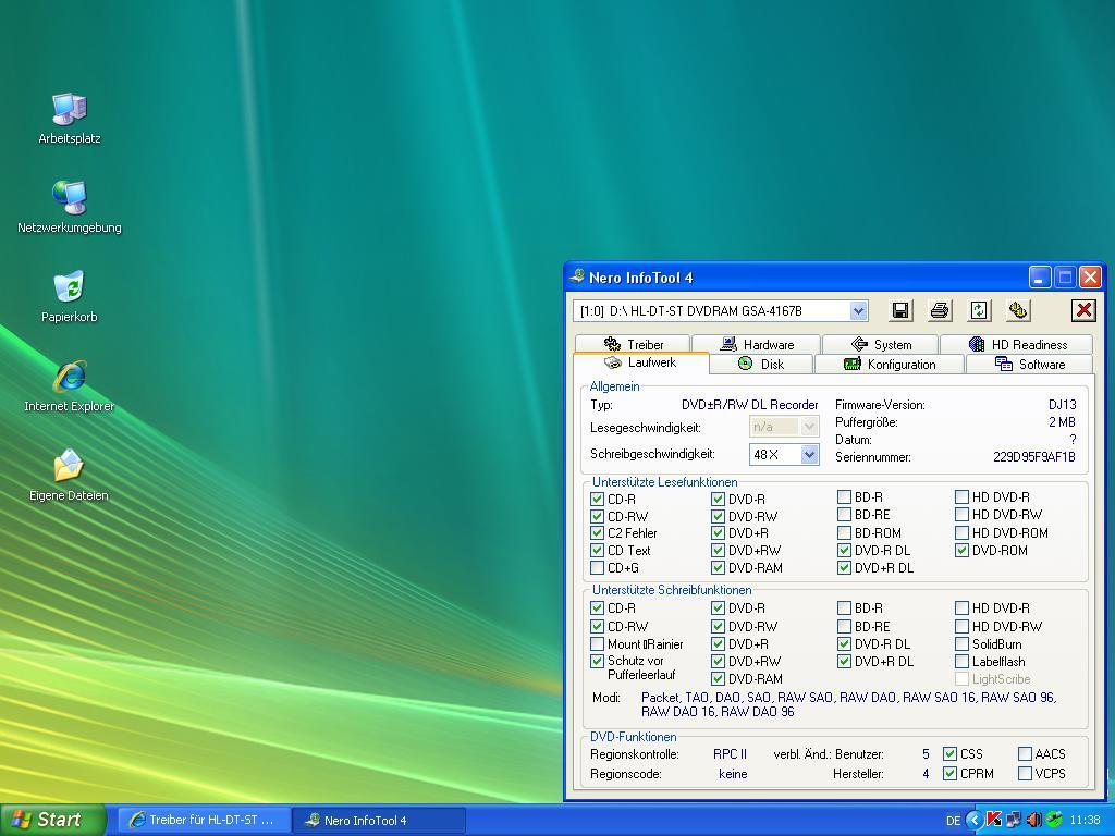 DVDRAM 40408 WINDOWS 8 X64 TREIBER