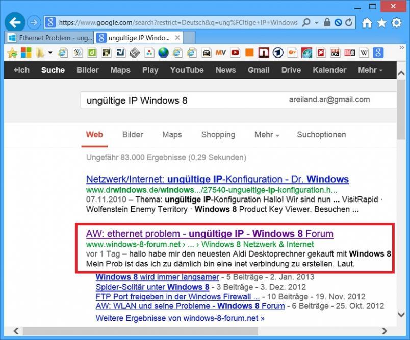 Ethernet  Problem - ung�ltige IP-unbenannt.jpg