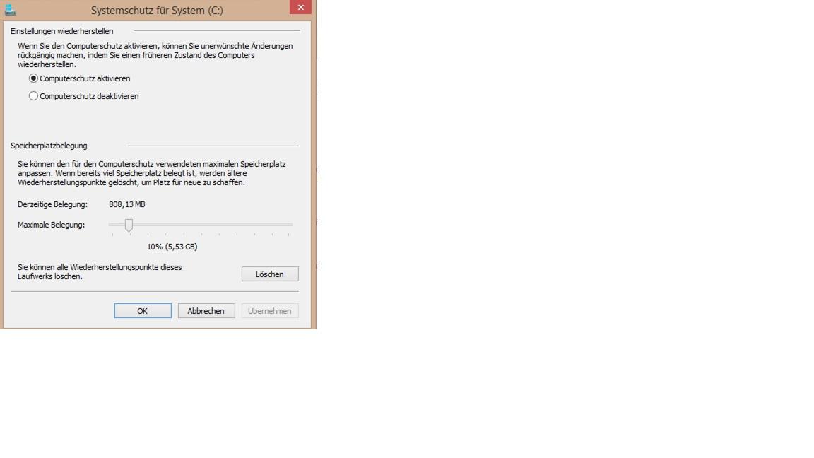 WIN 8.1 automatische Wierherstellungspunkte werden nicht erstellt ???-wiederherstellung.jpg
