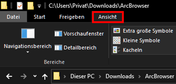 Windows 10,Datei-Explorer,Dateiendungen einblenden,Dateiendungen ausblenden,Dateierweiterungen...png