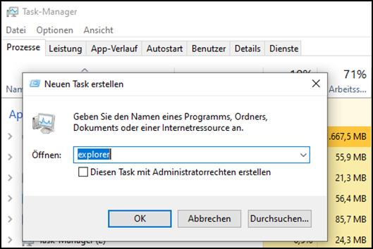 Windows 10,Explorer,Taskleiste,Windows 10 Explorer über Taskleiste beenden,Windows 10 Explorer...png