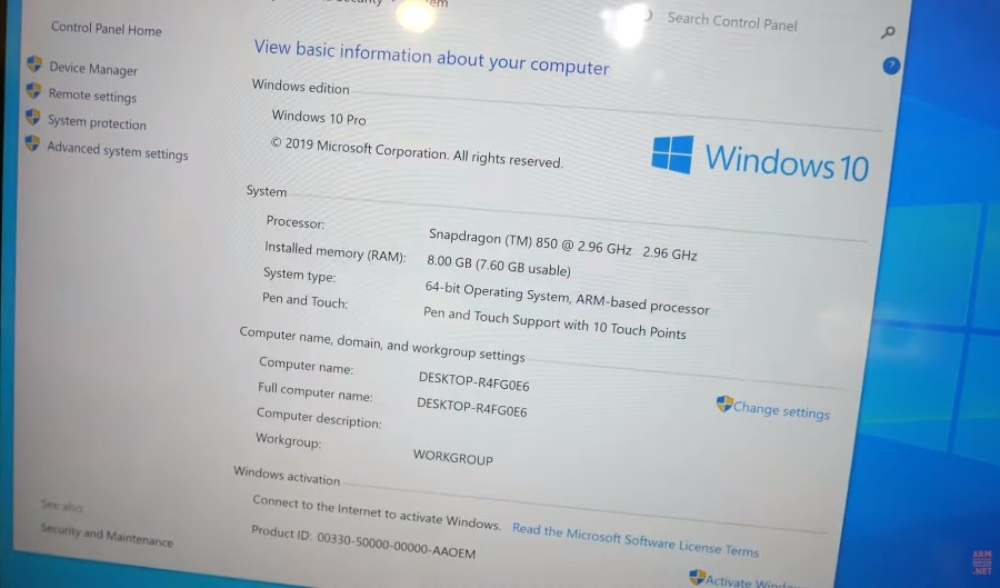 Windows 10 on ARM,Windows 10 auf ARM,Pipo Tablet mit Qualcomm Snapdragon 850 CPU,Surface Clone...jpg