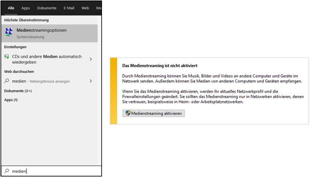 Windows 10,Windows10,Medienstreamingoptionen,Medienstreaming aktivieren,Medienstreaming starte...png