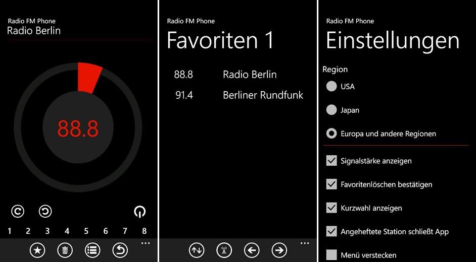 Haken-App Windows-Handy
