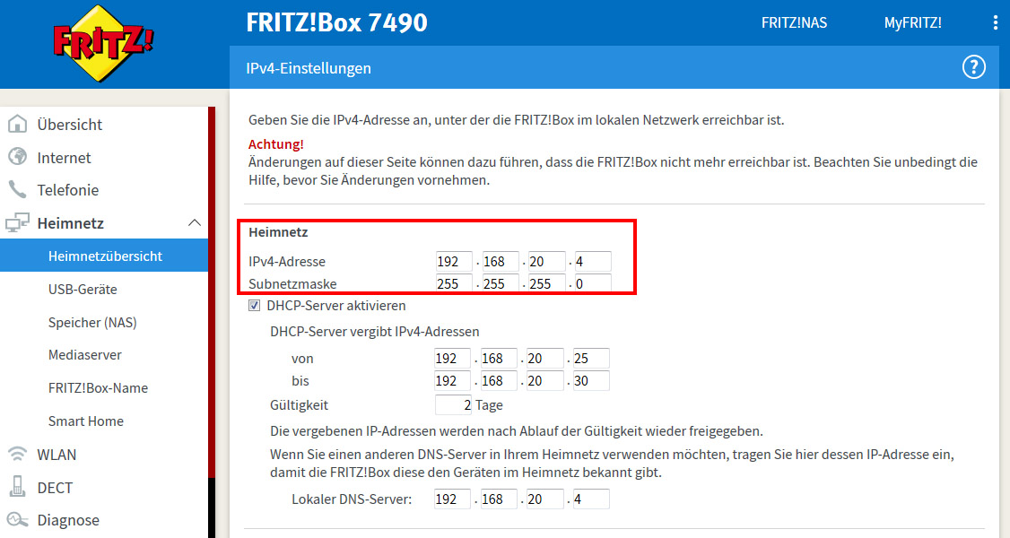 Ip AdreГџe Von Fritzbox