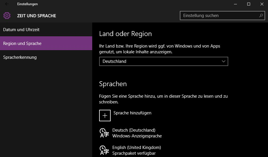 Windows 10 Auf Deutsch Stellen