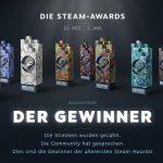 Steam Awards 2016 - das sind die Nominierungen und die Gewinner