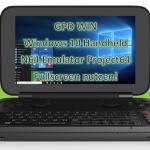 N64 Emulator Project64 auf GPD WIN Handheld in Vollbild und mit Joystick Support nutzen