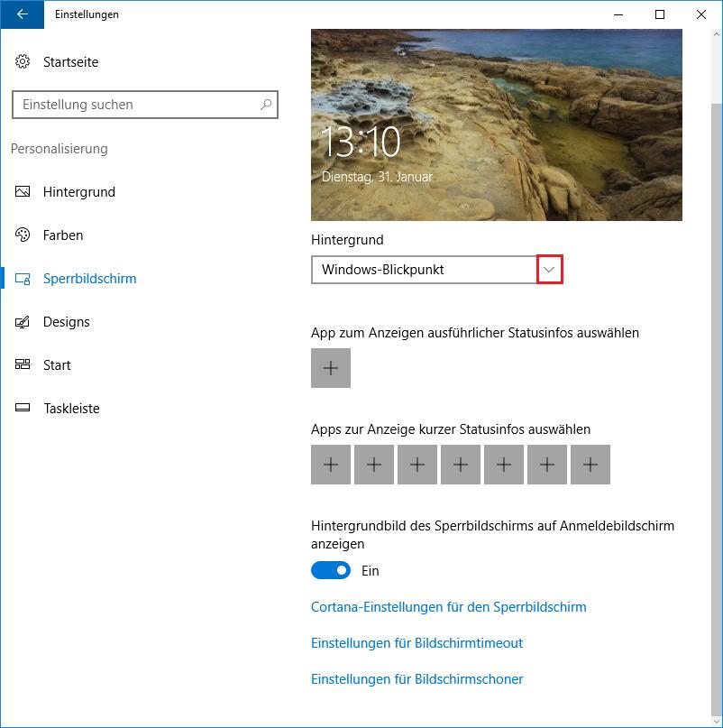 Windows xp sperrbildschirm hintergrund andern