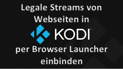 Legale Streams
