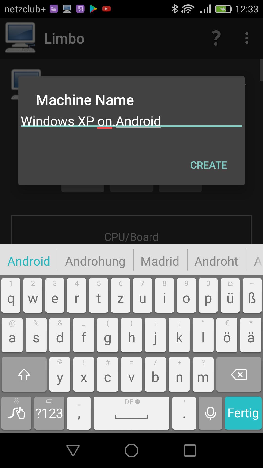 Android Smartphones mit Windows XP, Windows 95, Windows 98