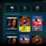 Ganze Filme Datenbank in Kodi unter Windows im internen oder externen Speicher löschen