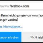 Facebook Benachrichtigungen aktivieren oder deaktivieren - So geht es am Desktop PC!
