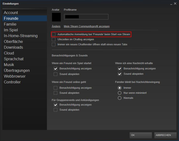 Steam Unsichtbar Spielen