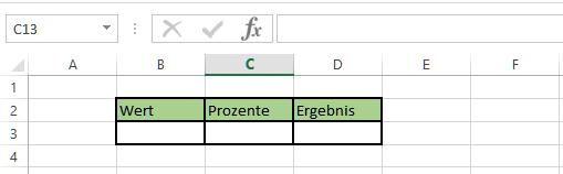 Excel Drehfeld