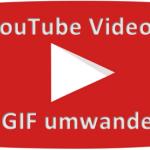 YouTube Video in GIF Dateien umwandeln mit MakeGIF Video Capture Plugin in Chrome und Firefox