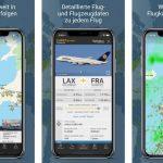Neue Flightradar24 App im Test - kostenlose und Bezahl-Version im Vergleich