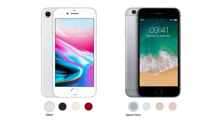test iphone 8 und iphone 6s im vergleich lohnt sich der. Black Bedroom Furniture Sets. Home Design Ideas