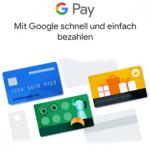 Google Pay am Smartphone einrichten und Google Pay mit Kreditkarte oder PayPal Konto verknüpfen