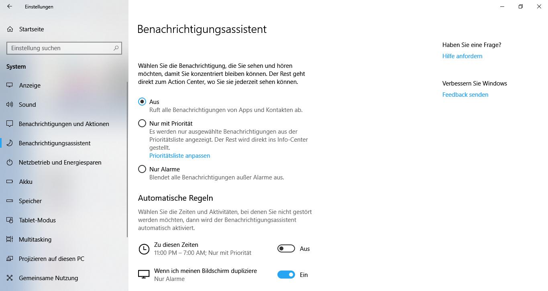 Windows10BenachrichtigungsassistentaktivierendeaktiviereneinrichtenpersonalisierenAlarme-1.png