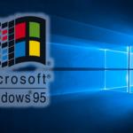 Windows 95 als Anwendung am Windows 10 Desktop PC oder Laptop starten und nutzen