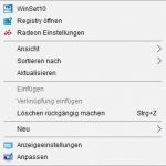 Windows 10: Kontextmenü (Rechtsklick) individuell anpassen - so geht's - UPDATE