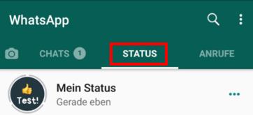 Whats App Funktion Mein Status Nutzen Und Whatsapp Status
