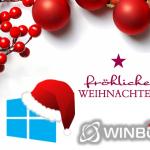 Das WinBoard Team wünscht allen Lesern ein frohes und besinnliches Weihnachtsfest 2018