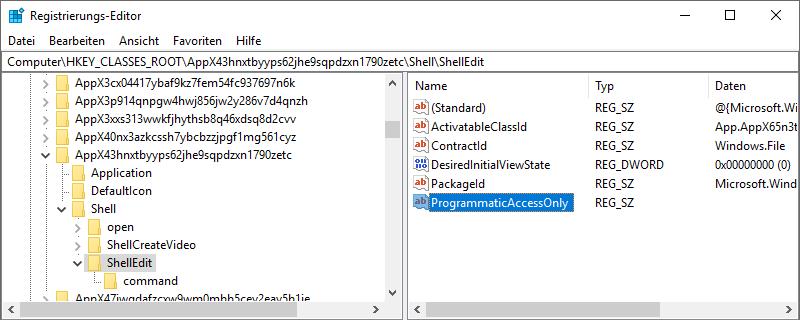 Windows-10Datei-ExplorerKontextmenüEintragMit-Fotos-bearbeiten-ausblendenMit-Fotos-bearbeiten-löschenMit-Fotos-bearbeiten-entfernenMit-Fotos-bearbeiten-deaktivierenRegistrierungs-EditorRegistry-3.png