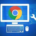 Schwarzen Bildschirm beim Scrollen oder bei neuem Tab öffnen im Chrome Browser entfernen