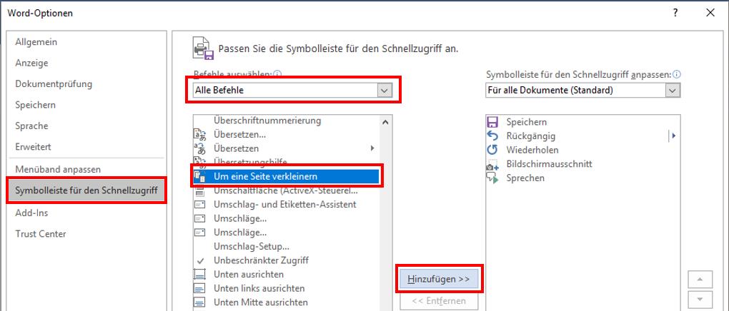 MicrosoftWordDokumentSeite-kürzenSeite-anpassenAusdruckMenübandSymbolleisteMenü-BandDruckanpassenverkleinerneine-Seite-druckeneine-Seite-weniger-druckeneine-Seite-sparennutzenverwenden-2.png