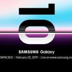 Samsung Galaxy Unpacked Event für das Samsung Galaxy S10 am 20.02.2019 live im Stream ansehen