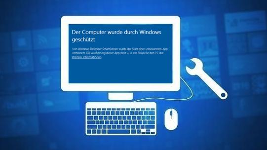 Windows-10Windows-DefenderSmartScreenFehlerFehlermeldungErrorMeldung-Der-Computer-wurde-durch-Windows-geschütztumgehenreparierenfixfixenHilfeProblemnicht-ausführentrotzdem-ausführen-1.png
