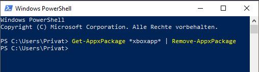 WindowsXboxAppAnwendungXbox-AppXbox-AnwendunglöschendeinstallierenentfernenXbox-App-löschenXbox-Anwendung-löschenXbox-löschenXbox-entfernenXbox-deinstallierenWindows-10neu-installieren-3.png