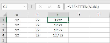 MicrosoftOfficeExcelZelleZellenWertWerteErgebnissErgebnisseFormelFormelnVERKETTENkombinierenAusgabezwei-Wertezwei-Ergenissezwei-Formelnin-einer-Zelleberechneneintragennutzenverwenden-2.png