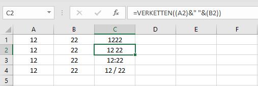MicrosoftOfficeExcelZelleZellenWertWerteErgebnissErgebnisseFormelFormelnVERKETTENkombinierenAusgabezwei-Wertezwei-Ergenissezwei-Formelnin-einer-Zelleberechneneintragennutzenverwenden-3.png
